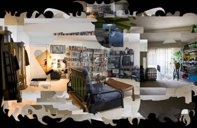 Hockney living room
