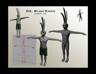 Dr. Blah-kman by truncheonm