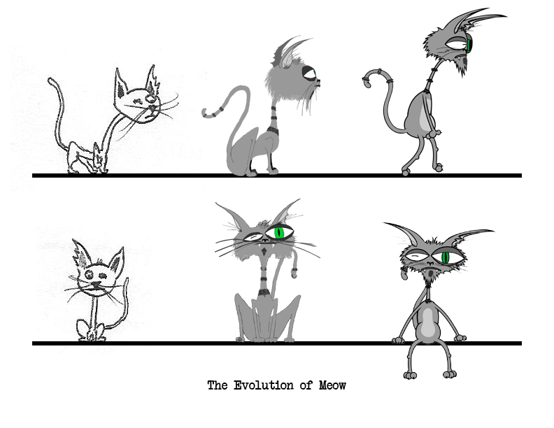 Evolution Of Meow by truncheonm