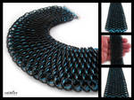 Black and Blue Dragonscale
