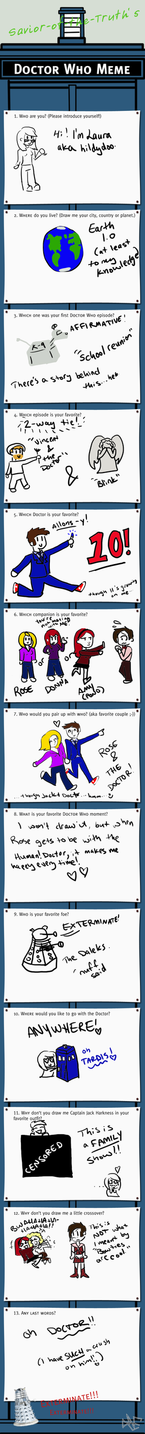 Doctor Who Meme by hildydoo