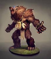 Werebear by Grzegorzpedrycz
