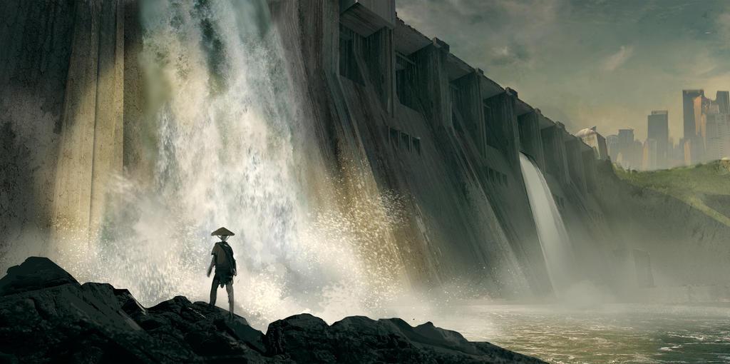 Dam by Grzegorzpedrycz