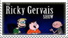 The Ricky Gervais Show stamp by 5-3-10-4