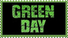 Green Day stamp