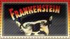 Frankenstein stamp by 5-3-10-4