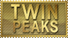 Twin Peaks stamp by 5-3-10-4