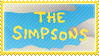 The Simpsons stamp by 5-3-10-4
