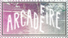 Arcade Fire stamp by 5-3-10-4