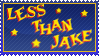 Less Than Jake stamp by 5-3-10-4