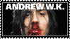 Andrew WK stamp by 5-3-10-4