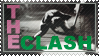 The Clash stamp by 5-3-10-4