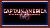 Captain America stamp
