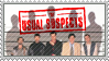 The Usual Suspects stamp by 5-3-10-4