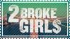 2 Broke Girls stamp by 5-3-10-4