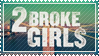 2 Broke Girls stamp by 5-3-10-4