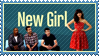 New Girl stamp by 5-3-10-4