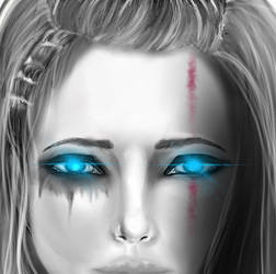 Blue eyes by ChanGuillot