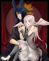 King and Queen by psyAlera
