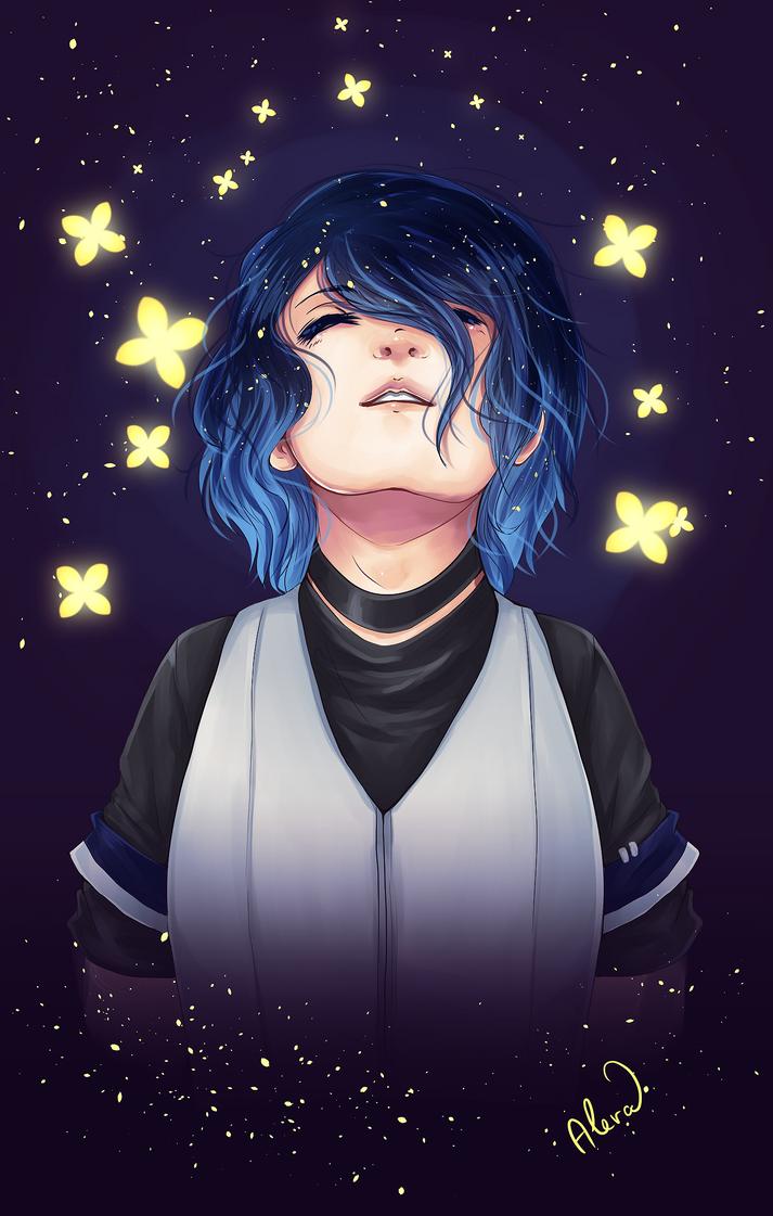 Butterfly Stars by psyAlera