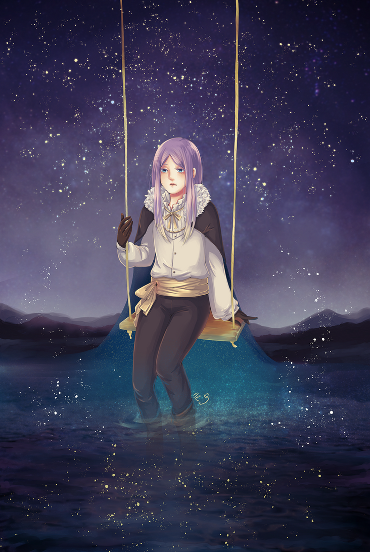 Starry Lake by psyAlera