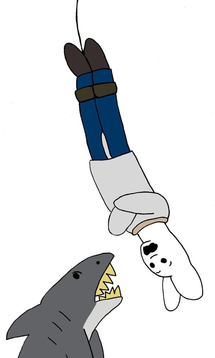 Shark Attack Escape by Schulzfan