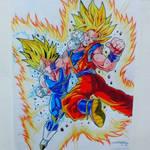 MajinVegeta Vs Goku