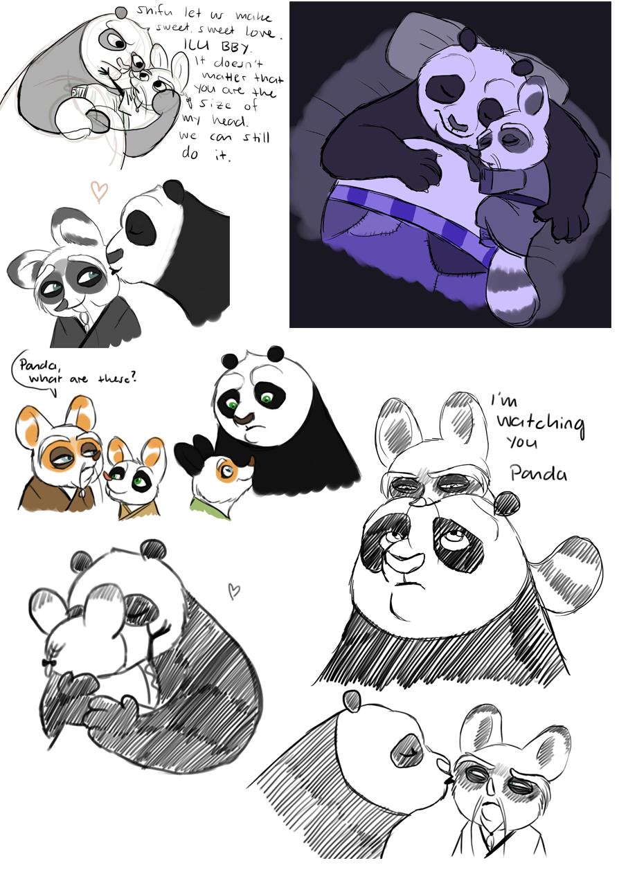 KFP - Shifu x Po sketc... Kung Fu Panda Po And Shifu
