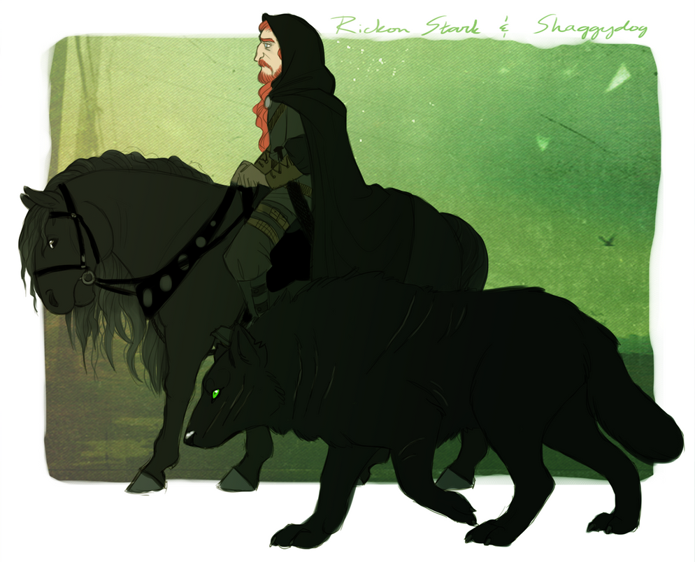 ASOIAF - Adult Rickon Stark by Shaiger