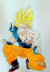 Goku- Dragon Ball Z by phkfrost