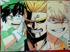 My Hero Academia by phkfrost