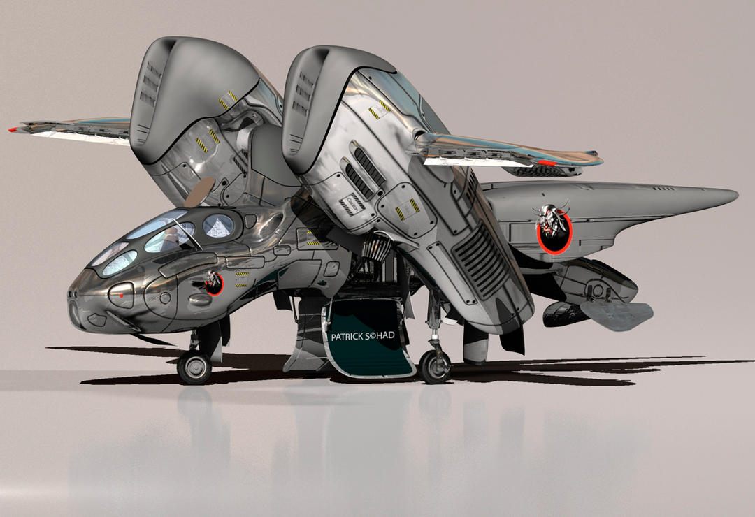 spaceship unfinished by PS-D