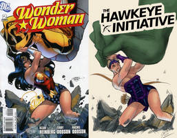 The Hawkeye Initiative by chalkyfeathers