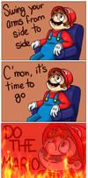 DO THE MARIO!!!!!!! by CreepyGameArtistXD