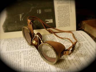 Steampunk Goggles by joffum
