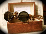 Steampunk Goggles tinted