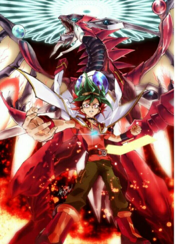 Yuya And Odd Eyes Raging Dragon By Minheragon On Deviantart