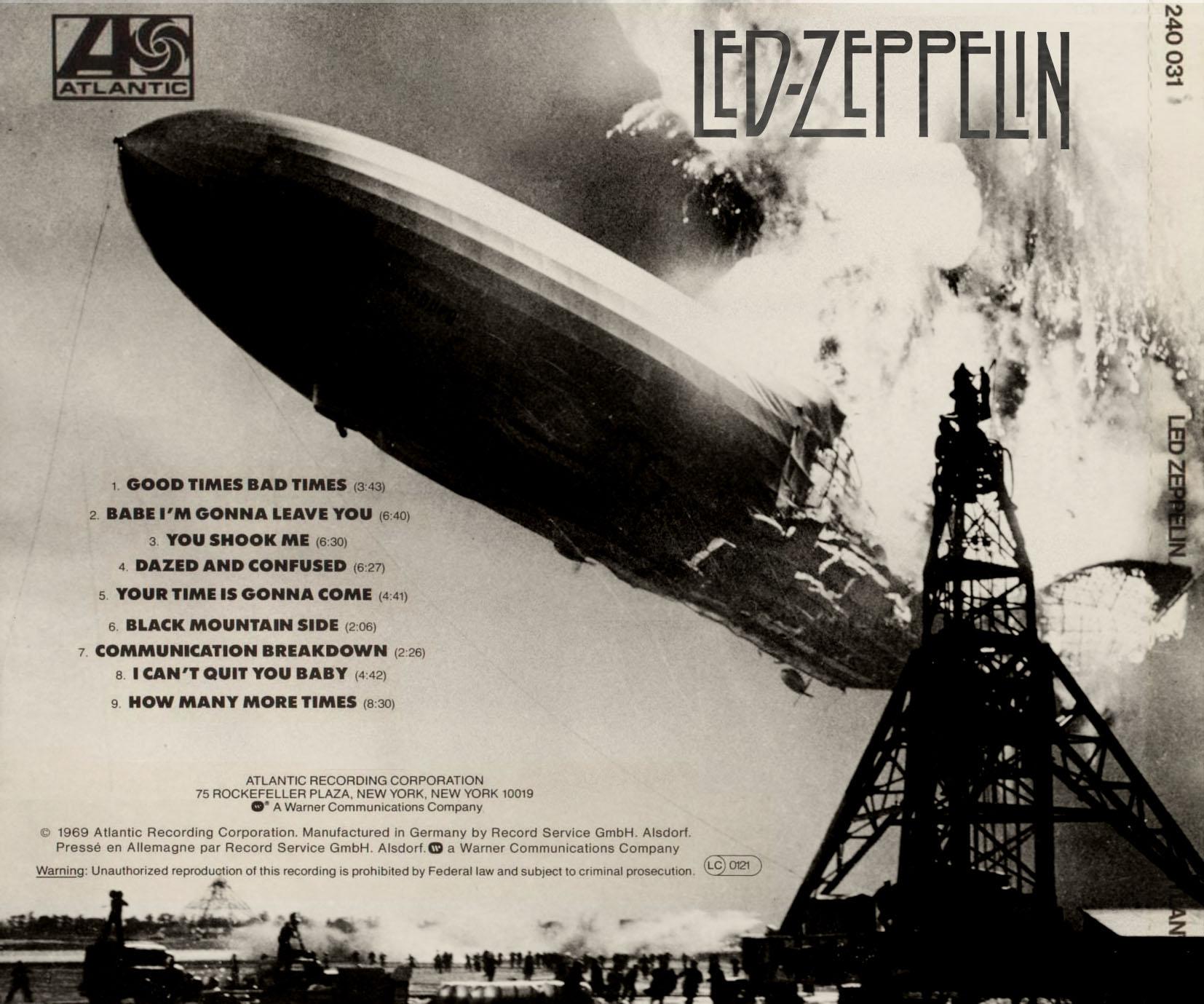 led zeppelin albums: