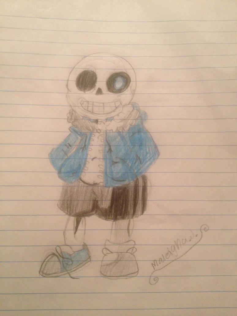sans by artisticdolphin20