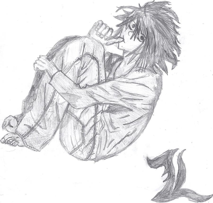 L Sketch by Jazzaloop