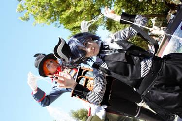 kuroshitsuji Ciel and Drocell by Miao86
