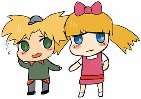 Arnold and Helga by Office100