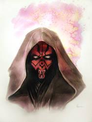 Star Wars Darth Maul by MikeKretz