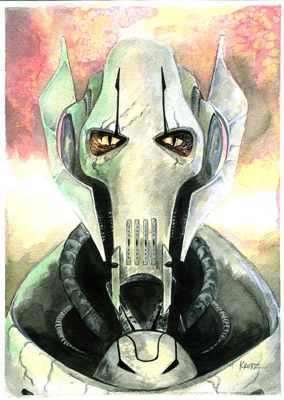 Star Wars General Grievous by MikeKretz