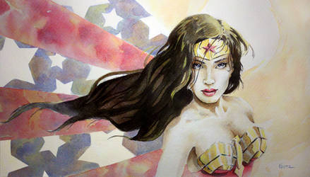 Wonder Woman II by MikeKretz