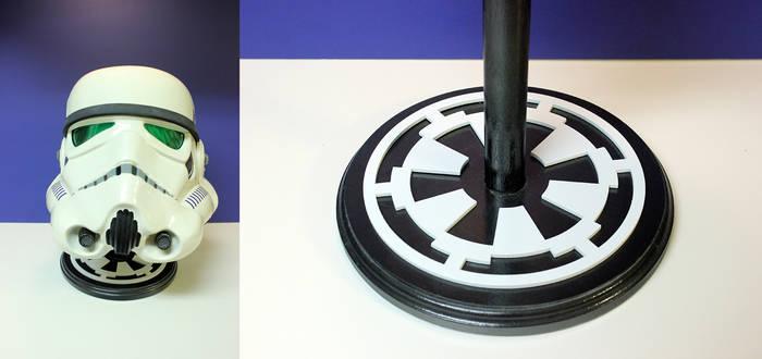 Star Wars Imperial Replica Helmet PropStand by MikeKretz