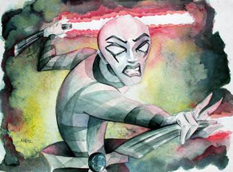 Star Wars, Clone Wars - Asajj Ventress by MikeKretz