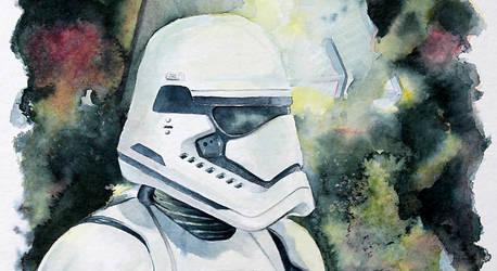 First Order Stormtrooper (WIP) by MikeKretz