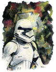 The Force Awakens, First Order Stormtrooper