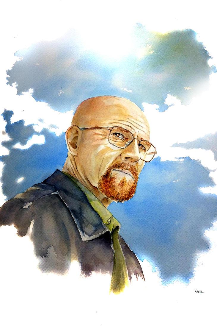 Walter White ( Heisenberg ) by MikeKretz